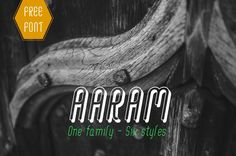 I just downloaded this awesome Aaram font by @enathu (Niram Factory) for free. Go and get yours.