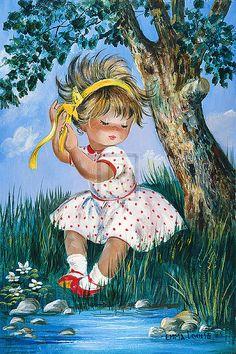 Dallas Simpson I FEEL PRETTY children's print, PAPER OR CANVAS, various sizes