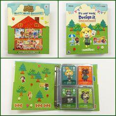 Animal Crossing:Happy Home Designer amiibo card binder
