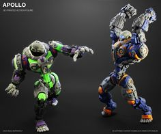 Apollo 3D Printed Action Figure (Assembled)