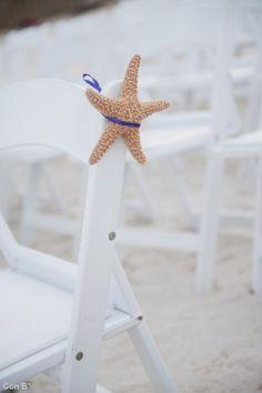 Estrellas de mar para Bodas en la playa http://conbdeboda.blogspot.com.es/2013/06/bodas-en-la-playa.html