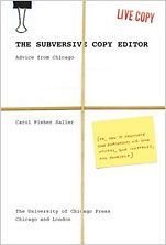 The Subversive Copy Editor: Advice from Chicago (or, How to Negotiate Good Relationships with Your Writers, Your Colleagues, and Yourself) Copy Editor, Keep The Peace, Chicago Style, Best Relationship, The Book, Books Online, Books To Read, Encouragement, Give It To Me