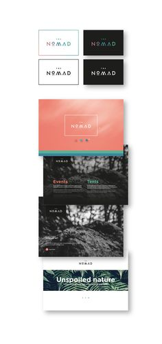 The Nomad | Branding on Behance