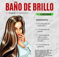 Natural Hair Treatments, Facial Tips, Cabello Hair, Tips Belleza, About Hair, Makeup Tips, My Hair, Beauty Hacks, Hair Care