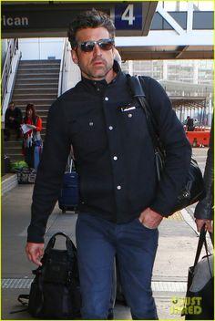 Patrick Arrives at LAX