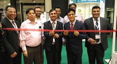 Shri Puneet Agarwal, Consul General, Consulate General of India at Hong Kong inaugurated India Pavilion at Asian Gifts and Premium Show, 2016 in the presence of Mr. Rajesh Kumar Jain, Member COA-EPCH, officials from EPCH and participants of India Pavilion. — in Hong Kong. #epchindia
