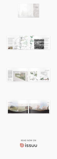 Landscape Architecture Portfolio #landscapearchitecture #architectureportfolio