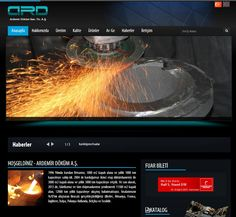 Ardemir Döküm Sanayi A.Ş. Yeni Web Sitesi Tamamlanmış ve Yayına Girmiştir.