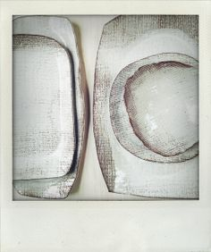 elephant ceramics - white on white