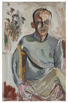 Alice Neel: Frank O'Hara, No. 2, 1960. Estate of Alice Neel. Kuva: Malcolm Varon, New York © Estate of Alice Neel