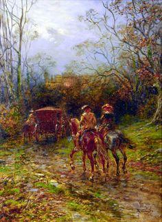 Cavalier horsemen