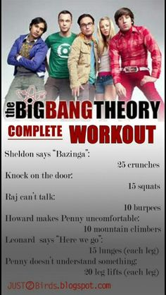 Big Bang Theory Workout