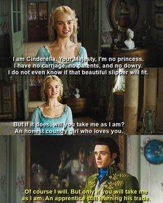 He'll always be her number one apprentice 😊❤️👌 'Cinderella' Cinderella 2015, Cinderella Movie, Cinderella Live Action, Cinderella Outfit, Disney Live, Cute Disney, Disney Dream, Disney Magic, Disney Princess Quotes