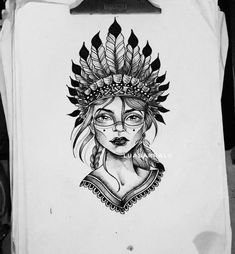 Image may contain: 1 person P Tattoo, Tattoo Drawings, Body Art Tattoos, Dream Catcher Native American, Native American Art, Sketch Tattoo Design, Tattoo Designs, Tattoo Gesicht, Native Tattoos