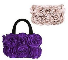 Interchangeable 3-Piece Floral Bag Set by Lori Greiner