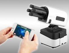 iPhone controlled missile launcher