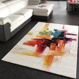 Teppich Modern Splash Designer Teppich Bunt Brush Neu OVP Grösse:120170 cm