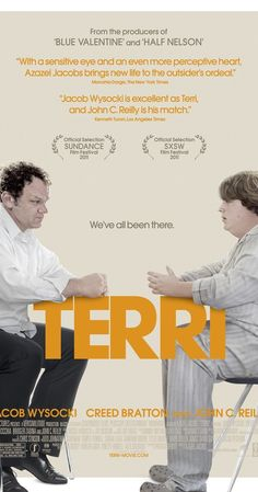 Directed by Azazel Jacobs.  With John C. Reilly, Jacob Wysocki, Bridger Zadina, Creed Bratton. The story of a large fifteen-year-old boy in a small town as he struggles to adjust to his difficult life.