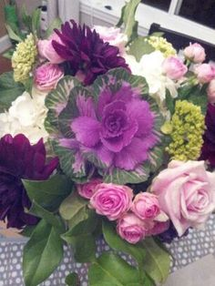 Vibrant  colored bouquet