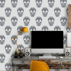 Adesivo de parede Mexican skulls