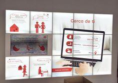 Detalles del Digital Signage en la nueva oficina de EDP en Murcia #EDP #Murcia