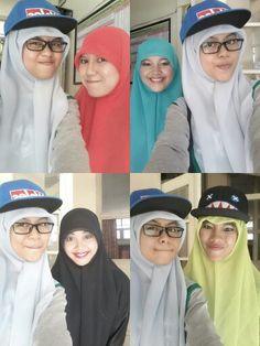 Take some picture wif Tinil, Atun, Astuti, and Ratu Gendoruwo. I'll miss you guys