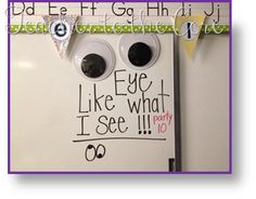 Teacher to the Core featured on the First Grade Parade with her Eye Like What I see classroom behavior management idea!