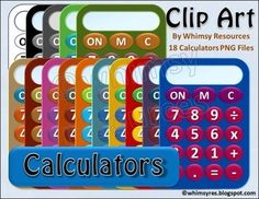 Calculator Clip Art