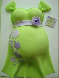 Belly Babyshower cake