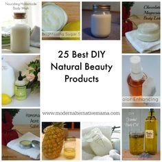25 Best DIY Natural Beauty Products - Modern Alternative Mama