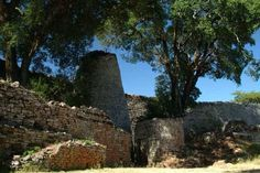 Great Zimbabwe. The conical tower.