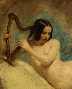 Terpsichore - William Edward Frost 19th century