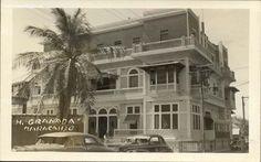 Cuando el Hotel Granada en Maracaibo lucía así, y hospedaba a personalidades como Carlos Gardel.