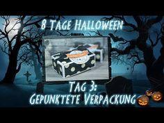 8 Tage Halloween - Tag 3 - Gepunktete Verpackung mit Produkten von Stampin' Up! - YouTube