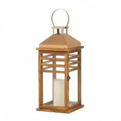 New Arrival: Large Contemporary Rose Gold Top Lantern - Rose gold stainless steel, contemporary design, and timeless style make this lantern a sure bet for any living space