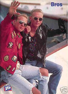 BROS - I loved the song Chocolate in the box.  Had a huge crush on these two.