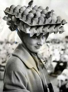 Egg Crate hat
