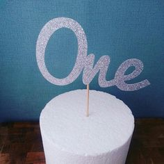 Another glitter cake topper off to its new home!