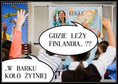 Gdzie leży Finlandia?...... Best Memes, Geek Stuff, Family Guy, Jokes, Facts, Funny, Elf, Finland, Alcohol
