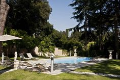 Villa Nocetta is set on the grounds of a private garden in Rome.   http://www.xoprivate.com/suites/villa-nocetta/  #travel #lifestyle www.xoprivate.com