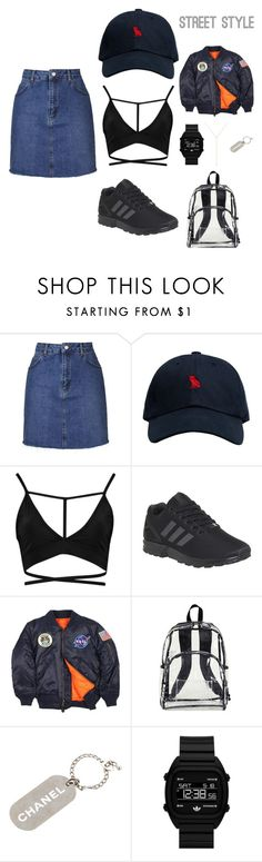 """""""Set #98"""" by fashionthirsty on Polyvore featuring Topshop, October's Very Own, adidas, Alpha Industries, Chanel, adidas Originals and Zoë Chicco"""