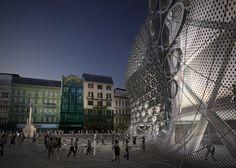Arch2o Szervita Square Tower  Zaha Hadid Architects - 8