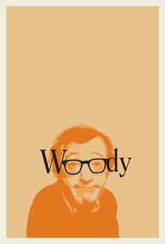 Director, actor, escritor, músico, guionista, humorista y dramaturgo, admirado por unos, odiados por otro Woody Allen nunca pasa desapercibido. #poster #diseño