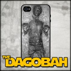 Han Solo Frozen in Carbonite iPhone 4 / 4S / 5 Cover Case inspired by Star Wars