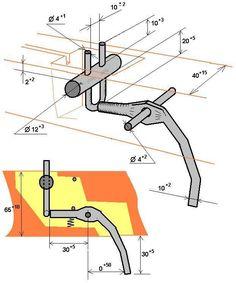 Простейший механизм арбалета своими руками