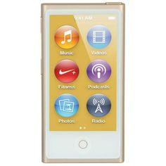 Apple iPod Nano 16GB Gold (MKMX2RU/A)  — 11990 руб. —  Сенсорный дисплей: Да, Воспроизведение MP3: Да, Встроенная память (ROM): 16 ГБ, Модель: MKMX2RU/A, Высота: 77 мм, Цвет: золотистый/белый, Интерфейс связи с ПК: USB 2.0, Вес: 31 г, Блокировка управления: Да, Воспр. в случайном порядке: Да, Повторение произведения: Да, Шагомер: Да, Функция VoiceOver: Да, Воз-ть обновления встр. ПО: Да, Глубина: 5.4 мм, Ширина: 40 мм, Программное обеспечение: доп.опция, Воспроизведение MPEG4: Да, FM…