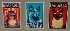 slig | OBEY kitty posters