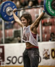 Lauren Fisher inspiration! 20 year old crossfitter and USA Olympic weightlifter…