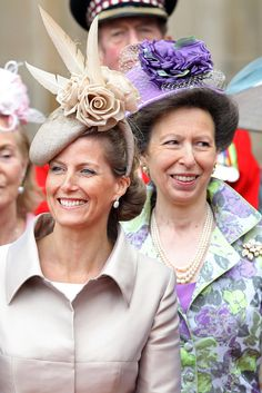 LONDON, ENGLAND - APRIL 29: Sophie, Countess of Wessex and Princess Anne, The Princess Royal following the marriage of Prince William, Duke of Cambridge and Catherine, Duchess of Cambridge at Westminster Abbey on April 29, 2011 in London, England. The marriage of the second in line to the British throne was led by the Archbishop of Canterbury and was attended by 1900 guests, including foreign Royal family members and heads of state. Thousands of well-wishers from around the world have…