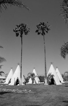 "Route 66 - Wigwam Motel. The California wigwams of San Bernardino, on Rt. 66. A peaceful tepee village awaits all who want to sleep in a wigwam. ""The Fine Art Photography of Frank Romeo."""
